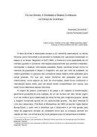 Oralidade e relatos curitibanos na crença do licantropo