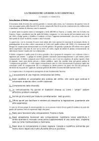 LA TRADIZIONE GIURIDICA OCCIDENTALE (V. VARANO / V. BARSOTTI)