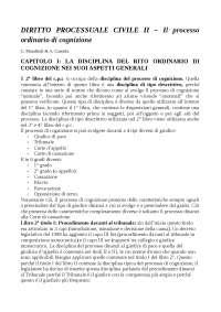 Riassunti diritto processuale civile, C. Mandrioli & A. Carratta, volume II