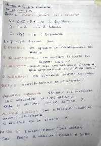 Politica Economica (Prof. Mazzola) Unipa Esercizi con obiettivi Fissi