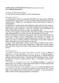 Storia delle professioni legali prof.ssa Raffaella Bianchi Riva.pdf