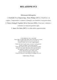 Relazione Family Cohesion Index