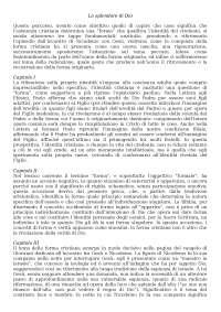 """""""Lo splendore di Dio"""", Pierluigi Lia, Dispense di Teologia II"""