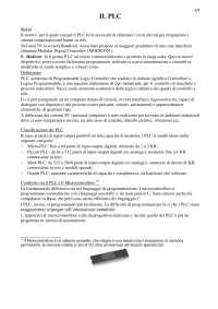 PLC sistemi automazione