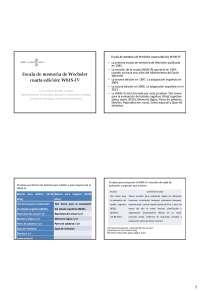 Escala De Memoria Wechsler Apuntes De Psicología Docsity