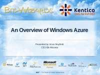 Azure prezentation downloaded from internet