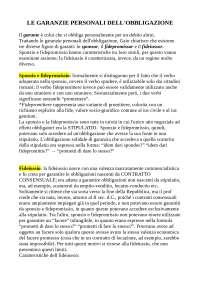 Le garanzie personali nel diritto romano