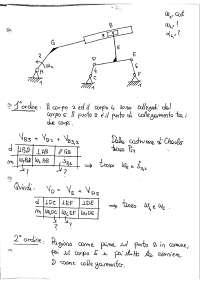 Esercizi di Meccanica Applicata alle Macchine Svolti e Spiegati - Sapienza - Ingegneria Meccanica