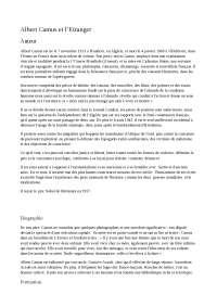 L'etranger di camus lingua francese