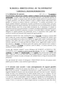 """DIRITTO CIVILE (Bianca) vol. 3 - """"Il contratto"""""""