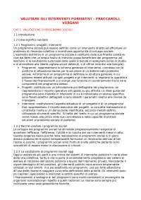 VALUTARE GLI INTERVENTI FORMATIVI - FRACCAROLI, VERGANI