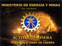 actividad minera, impacto ambiental