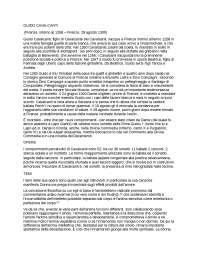 GUIDO CAVALCANTI - STILNOVO