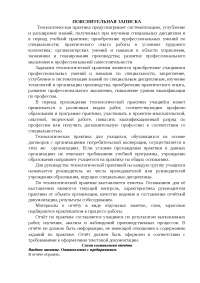 Отчет по практике техника-технолога кондитерских, хлебобулочных и макаронных изделий