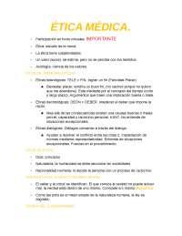 Resumen Etica Medica
