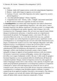 Manuale di sociolinguistica (Berruto e Cerruti)