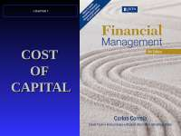 Cost of capital by drury