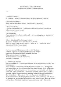 Sbobinature del corso di Laura Leonardi e Luigi Burroni di Sistemi Sociali