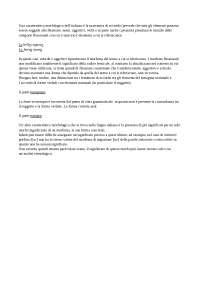 Caratteristiche morfologiche dell'italiano standard