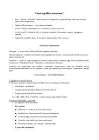Appunti lezione sulle tecniche e i metodi di osservazione dei comportamenti
