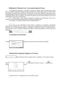 Trabalho de vibrações - digitado - josué geraldo-005325, Trabalhos de Engenharia Mecânica