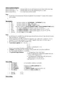Istruzioni E aiuto Esame Java