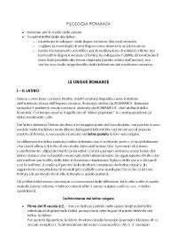 Le lingue romanze (W. D. Elcock)