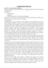 riassunto Laberthonnière teoria dell'educazione e altri scritti pedagogici L.Pazzaglia