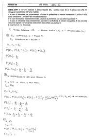 Esercizi svolti di statistica inferenziale