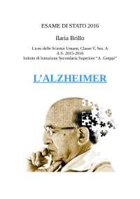 l'Alzheimer: cause neurologiche, cura del paziente
