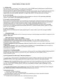 psihijatrijska anamneza, Šeme' predlog Klinička medicina