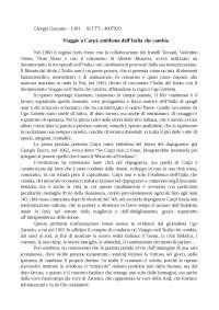 Viaggio a Carpi, emblema dell'Italia che cambia