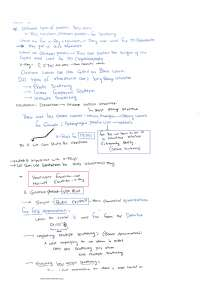 solid state physics basic lecture notes