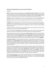 Riassunto e appunti dell'esame basi biologiche dell'attività psichica