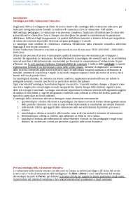 Riassunto libro Valutazione educativa A.M.Notti, L.Galliani