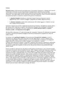 Approfondimento su Scriven e la Goal free evaluation