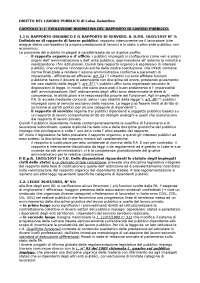 Diritto del lavoro pubblico Galantino