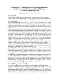 Revicion bibliográfica del DENGUE