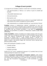 SVILUPPO E MARKETING DI PRODOTTO