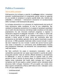 RIASSUNTO LIBRO - Garofoli G., Economia e politica economica in Italia. Lo sviluppo economico italiano dal 1945 ad oggi, Franco Angeli Editore, 2014