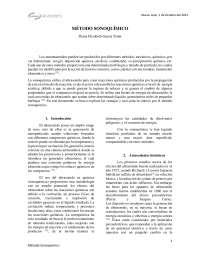 Obtención de nanopartículas por método sonoquímico