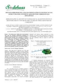 Revisão bibliográfica das manifestações patológicas, Notas de estudo de Engenharia Mecânica