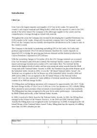 ratio analysis report of litro gas PLC by Nirosan theva