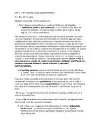 Losito G. (2004),L'intervista nella ricerca sociale, Roma-Bari, Editori Laterza