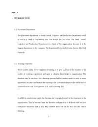 sample Final report Internship