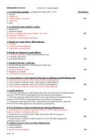 Mikrobiologija za studente medicine i farmacije univerziteta tuzla