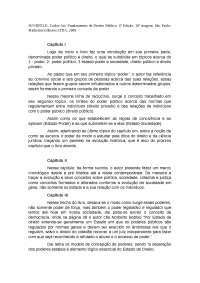 Resumo Direito Administrativo - Fundamentos de Direito Público.