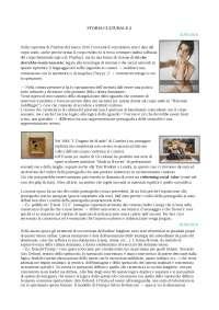 """Appunti STORIA CULTURALE mod.2 """"Culture del presente"""" - prof. Cleto"""