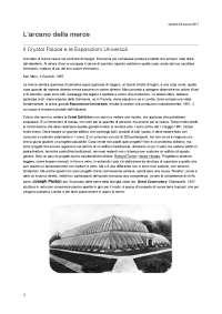 L'arcano della merce. Il Crystal Palace e le Esposizione Universali