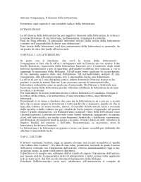Riassunto Demone della Teoria Antoine Compagnon